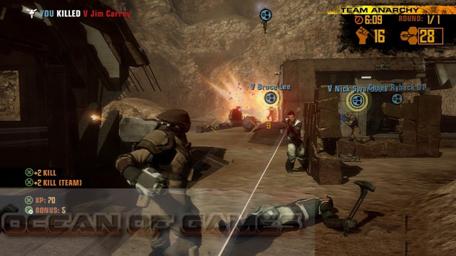 Red Faction 2 Features