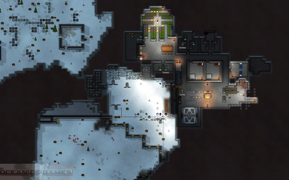 rimworld how to make colonists build roof