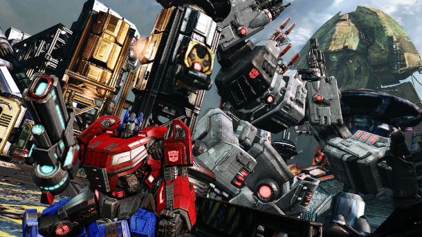 Transformers Game Pc